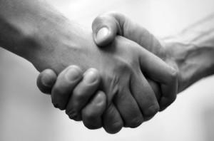 palmar hyperhidrosis handshake